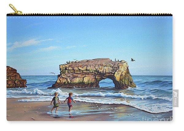 An Adventure On The Beach Carry-all Pouch