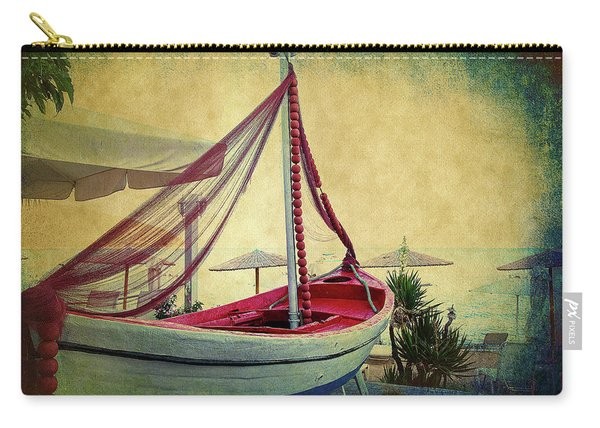 an Old Boat Carry-all Pouch