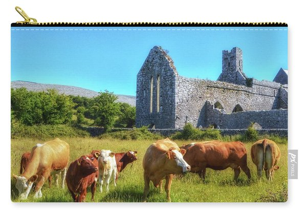 Ancient Cows Carry-all Pouch