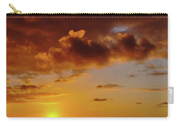 And Then The Sun Set Carry-all Pouch