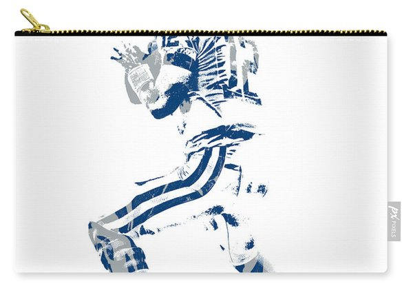 Andrew Luck Indianapolis Colts Pixel Art 6 Carry-all Pouch