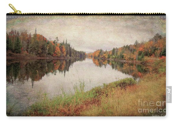 Androscoggin River, 13 Mile Woods Antiqued Carry-all Pouch