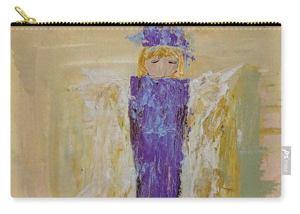 Angel Girl With A Unicorn Carry-all Pouch