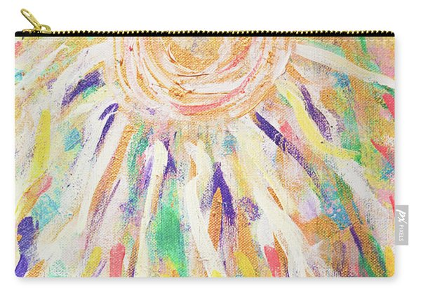 Angel In The Garden Carry-all Pouch