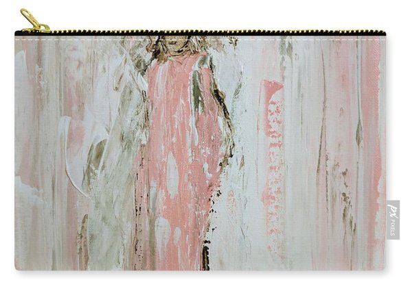 Angels In Pink Carry-all Pouch