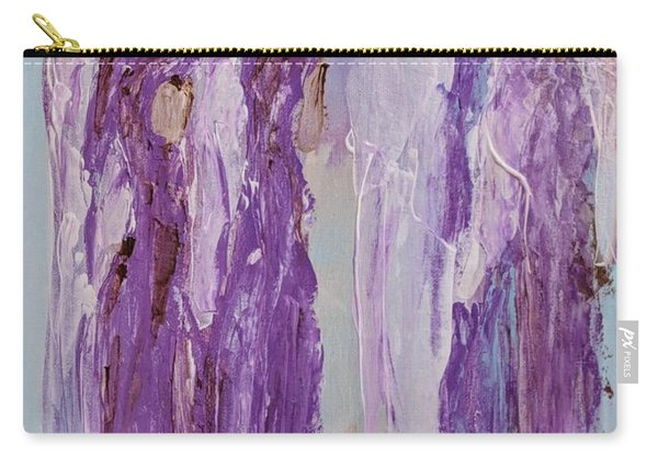 Angels In Purple Carry-all Pouch