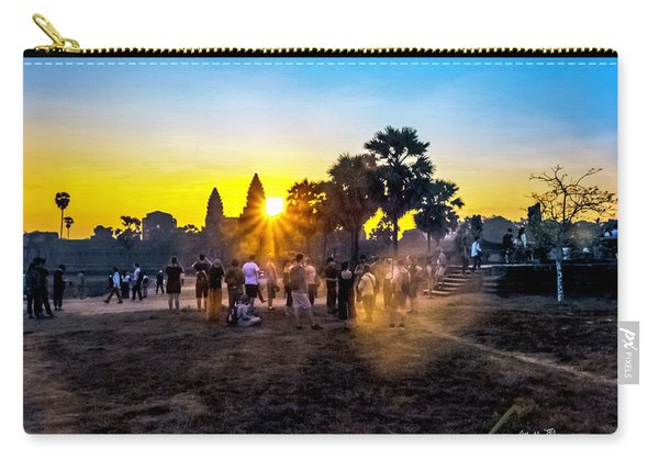 Angkor Wat At Sunrise - Siem Reap, Cambodia Carry-all Pouch