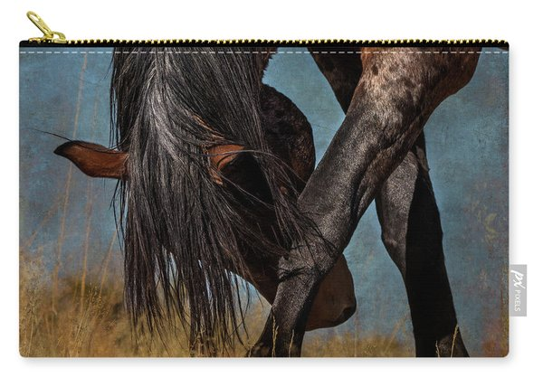 Angles Of The Horse Carry-all Pouch