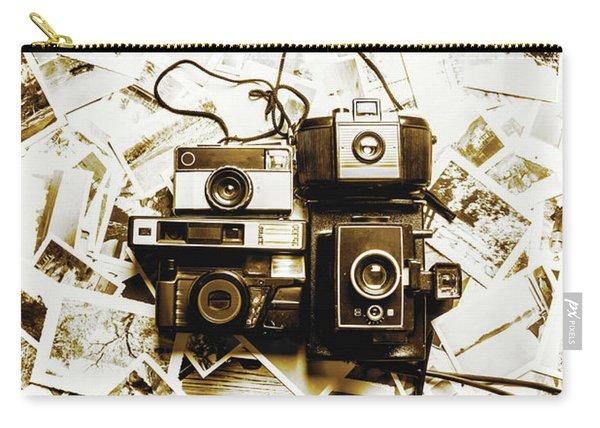 Antique Albums Carry-all Pouch