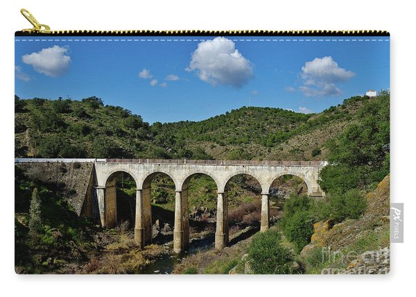 Antique Mertola's Bridge In Alentejo Carry-all Pouch