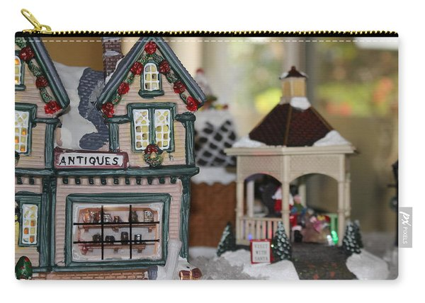 Antiques In Christmas Town Carry-all Pouch