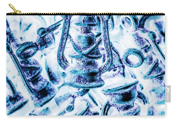 Antiquity Blue Carry-all Pouch