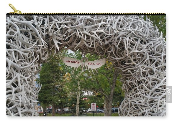 Antler Arch  Carry-all Pouch