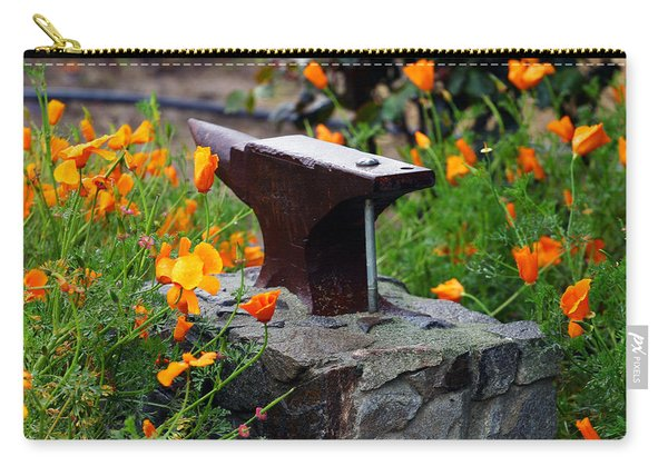 Anvil In The Poppies Carry-all Pouch