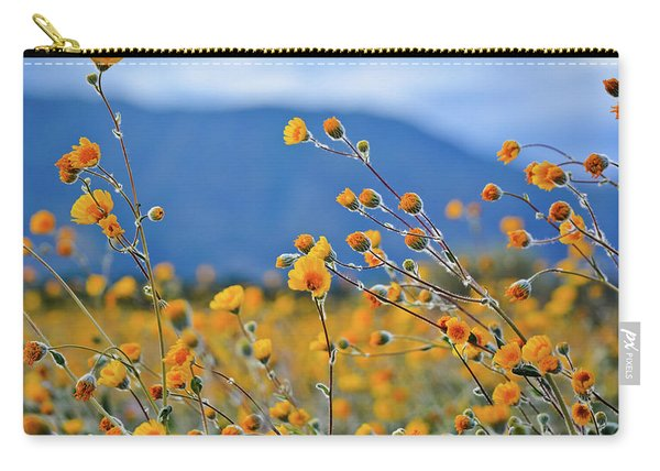 Anza Borrego Wild Desert Sunflowers Carry-all Pouch