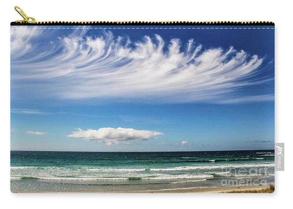 Aotearoa - The Long White Cloud, New Zealand Carry-all Pouch
