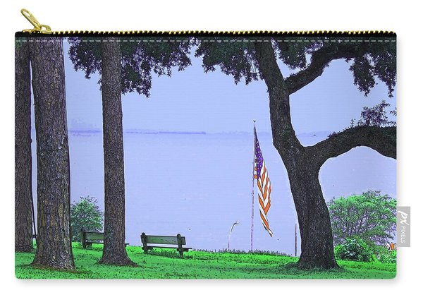 A Patriotic Scenic View From Fairhope Alabama Carry-all Pouch