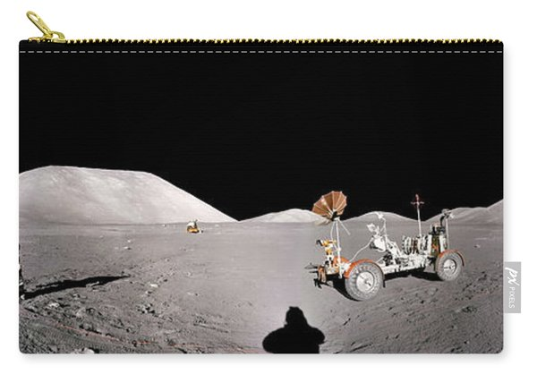 Apollo 17 Taurus-littrow Valley The Moon Carry-all Pouch