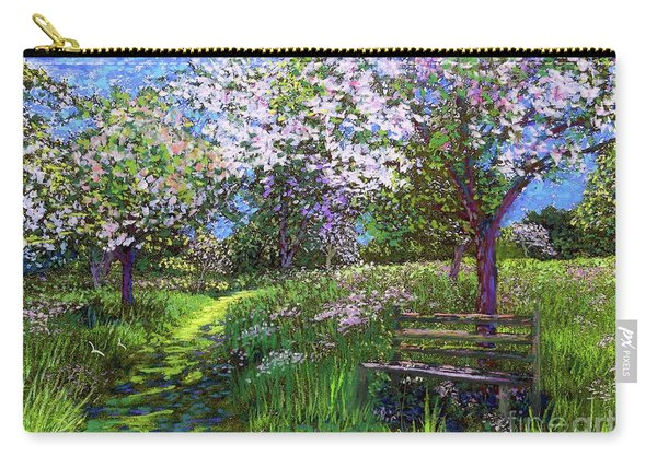 Apple Blossom Trees Carry-all Pouch