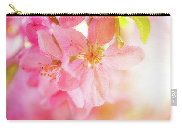 Apple Blossoms Bright Glow Carry-all Pouch