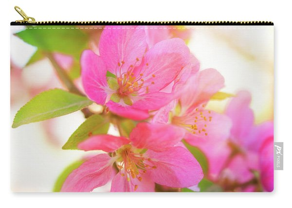 Apple Blossoms Warm Glow Carry-all Pouch
