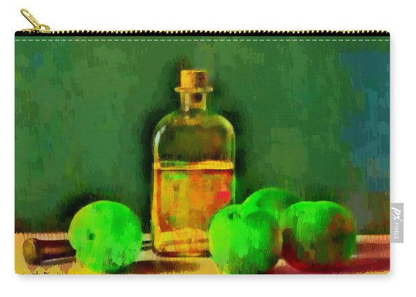 Apples And Oil - Da Carry-all Pouch