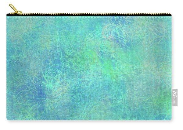 Aqua Batik Print Coordinate Carry-all Pouch