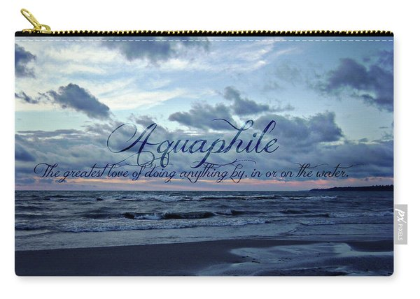 Aquaphile Carry-all Pouch