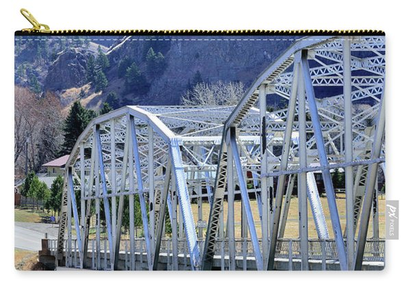 Arched Bridge And Hills Carry-all Pouch