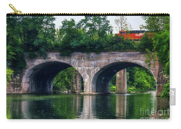 Arched Train Bridge   Carry-all Pouch