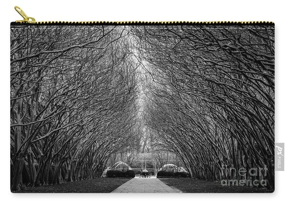 Carry-all Pouch featuring the photograph Arches by Dheeraj Mutha