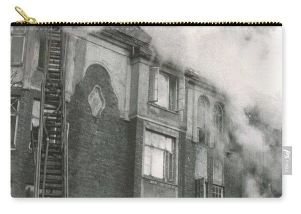 Architect Christie S Street 7 On Fire 1955  2 Carry-all Pouch
