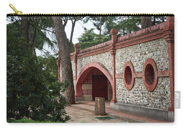 Architecture At The Gardens Of Cecilio Rodriguez In Retiro Park - Madrid, Spain Carry-all Pouch