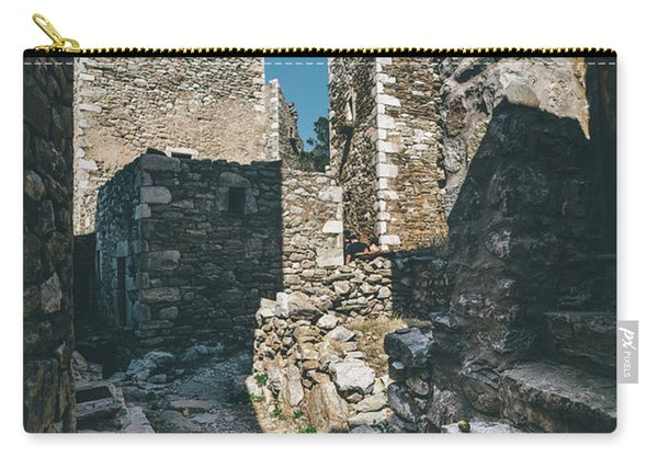 Architecture Of Old Vathia Settlement Carry-all Pouch