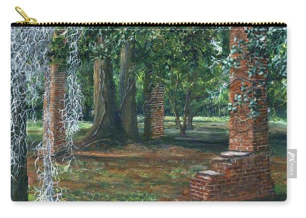 Ardoyne Ruins Near The Mansion, Houma, Louisiana Carry-all Pouch