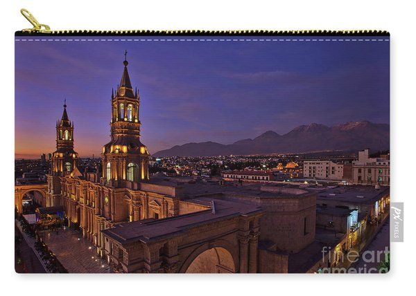 Carry-all Pouch featuring the photograph Arequipa Is Peru Best Kept Travel Secret by Sam Antonio Photography