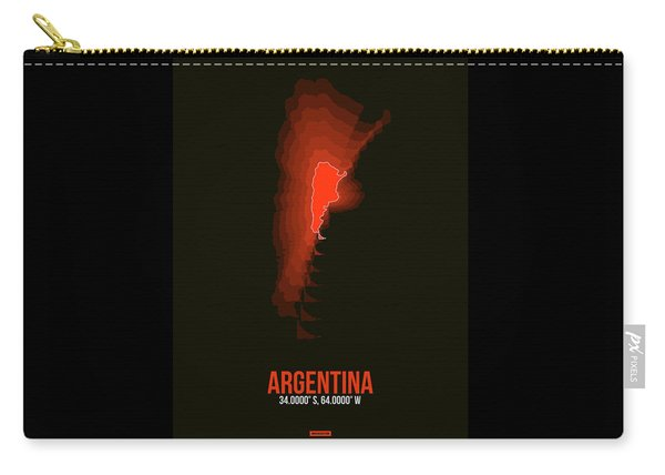 Argentina Radiant Map 3 Carry-all Pouch