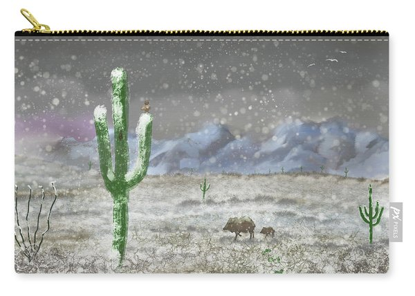 Arizona Blizzard Carry-all Pouch