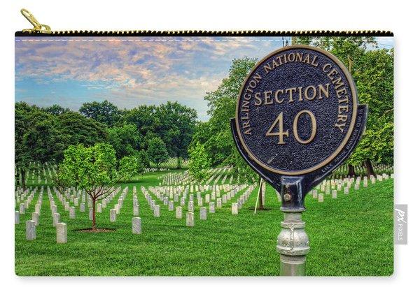 Arlington National Cemtery Carry-all Pouch