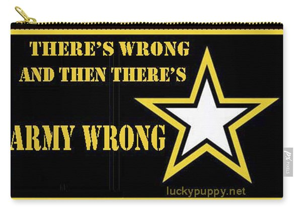 Army Wrong Carry-all Pouch
