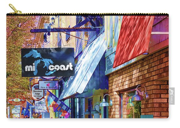 Art Coast Of Michigan Carry-all Pouch