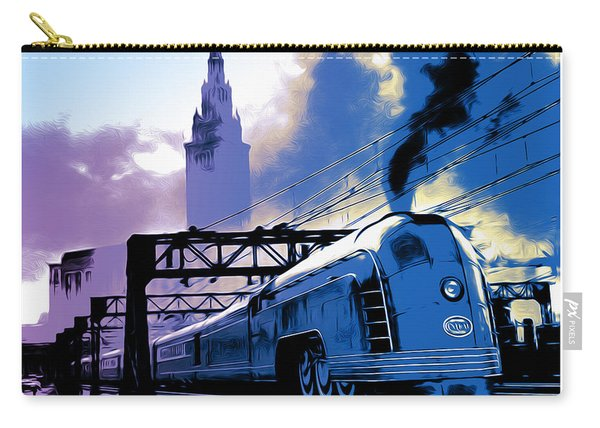 Art Deco Train Carry-all Pouch