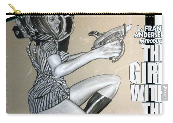 arteMECHANIX 1906 The GIRL WITH The SHINY RAYGUN GRUNGE Carry-all Pouch