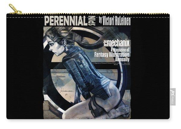 arteMECHANIX 1908 PERENNIAL SPIN GRUNGE Carry-all Pouch