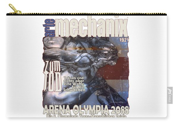 arteMECHANIX 1921 ARENA  GRUNGE Carry-all Pouch