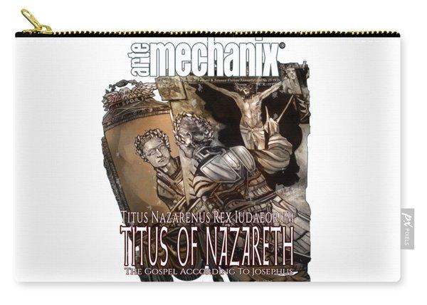 arteMECHANIX 1928 TITUS OF NAZARETH GRUNGE Carry-all Pouch