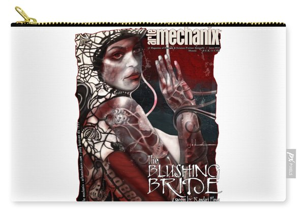 arteMECHANIX 1933 The BLUSHING BRIDE GRUNGE Carry-all Pouch