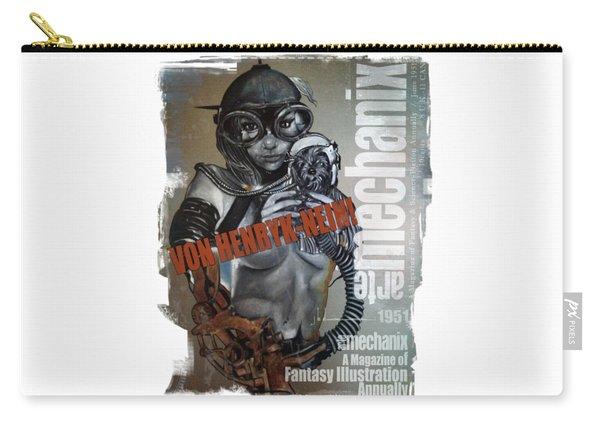 arteMECHANIX 1951 VON HENRYK-NEIN GRUNGE Carry-all Pouch