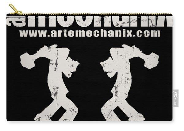 arteMECHANIX OFFICIAL LOGO  GRUNGE Carry-all Pouch