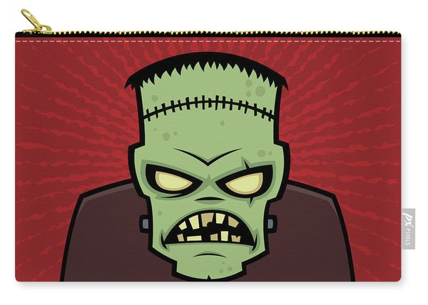 Frankenstein Monster Carry-all Pouch